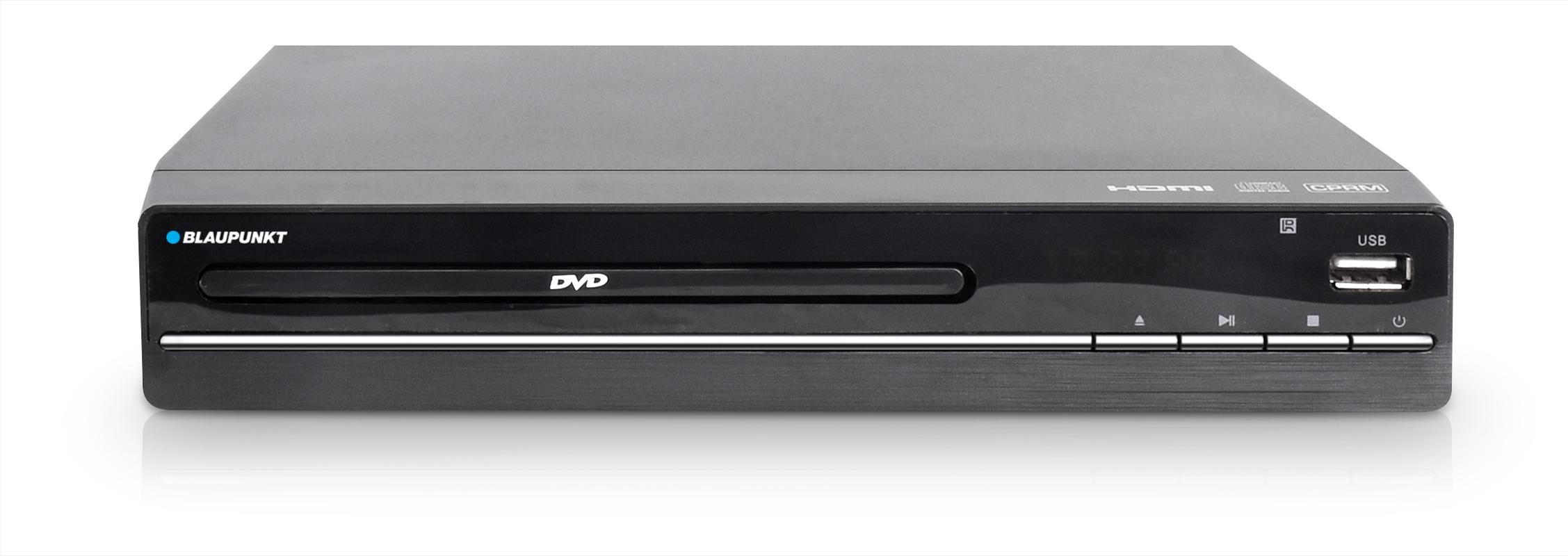 Blaupunkt 2.0CH DVD Player - Black   Merchandise