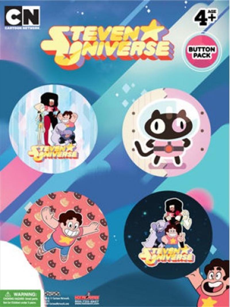 Steven Universe - Badge Pack 4pk | Merchandise
