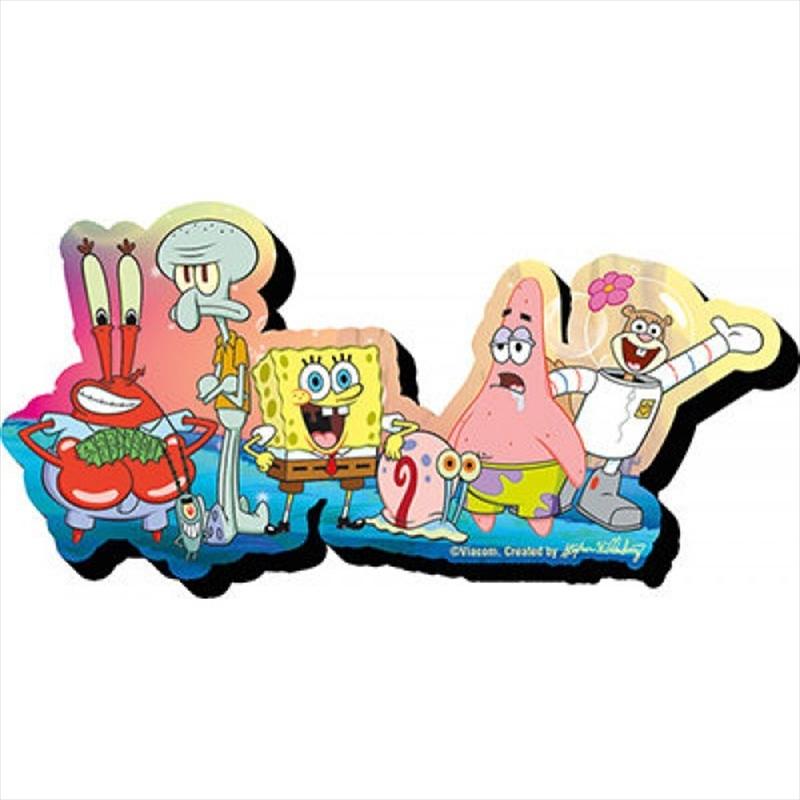 Spongebob Group Magnet | Merchandise