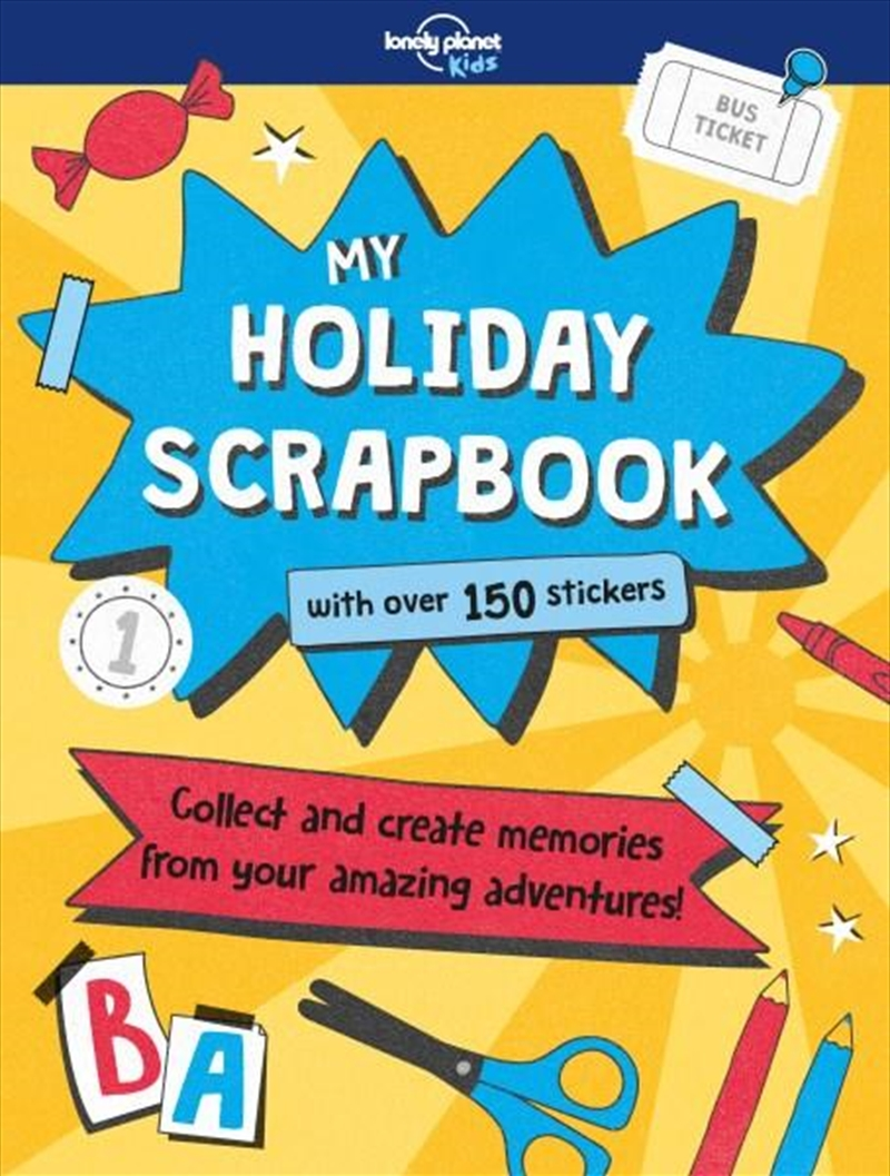My Holiday Scrapbook | Paperback Book