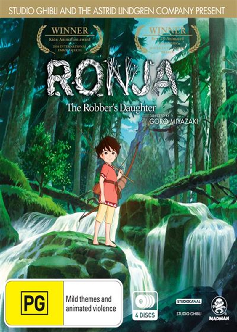 Ronja The Robber S Daughter Animated Dvd Sanity