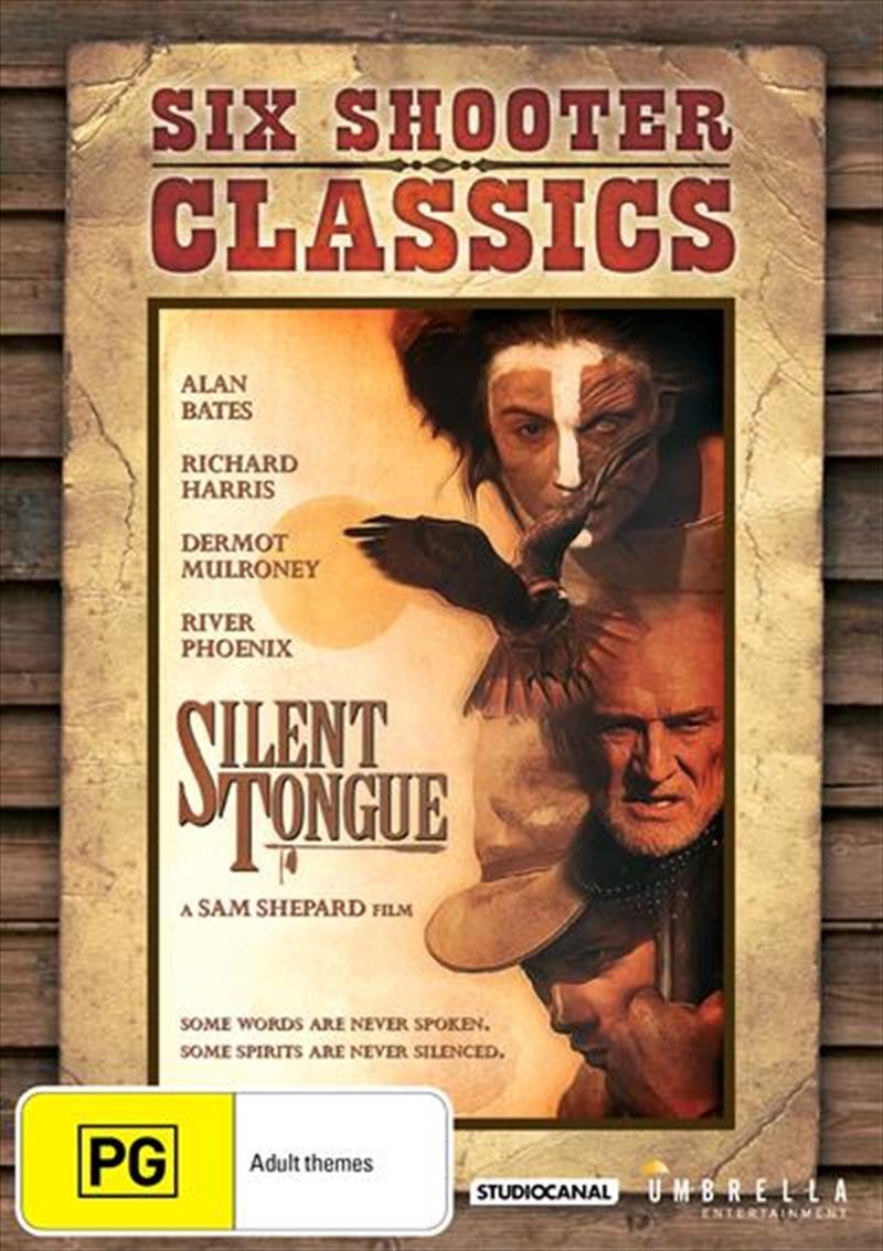 Silent Tongue Six Shooter Classics   DVD