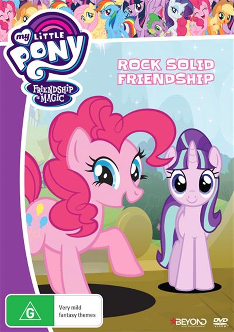 My Little Pony Friendship Is Magic - Rock Solid Friendship | DVD