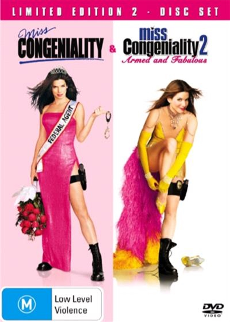 Miss Congeniality  / Miss Congeniality 02 - Armed And Fabulous  Box Set | DVD