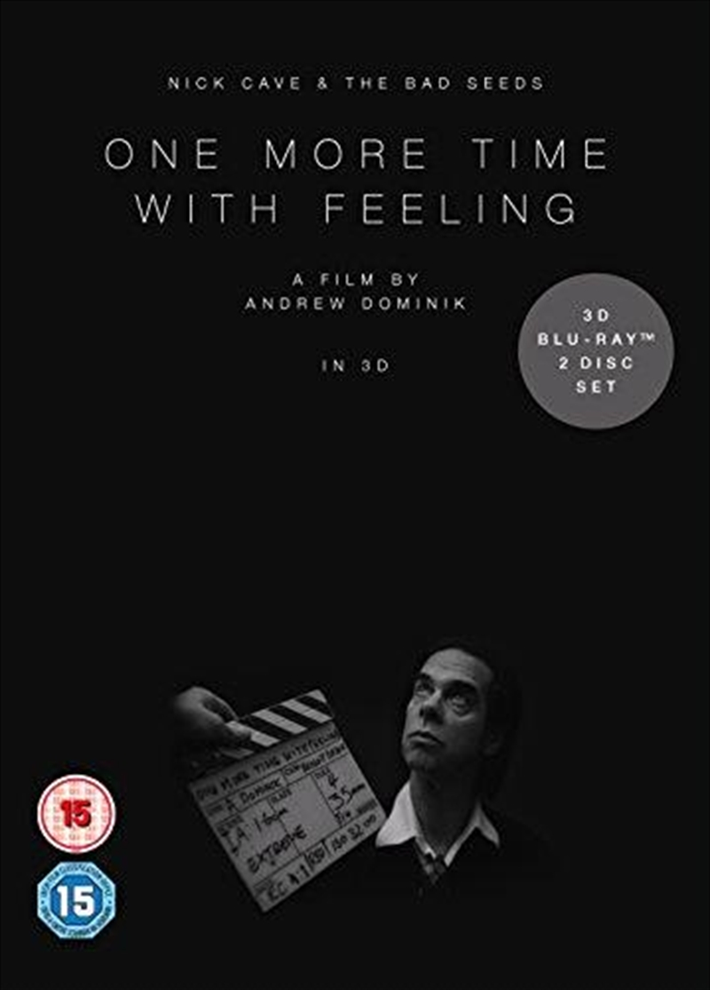 One More Time With Feeling | Blu-ray 3D