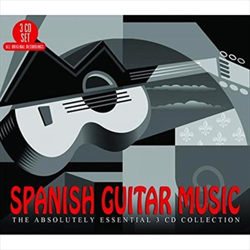 Spanish Guitar Music Absolutely Essential Collection