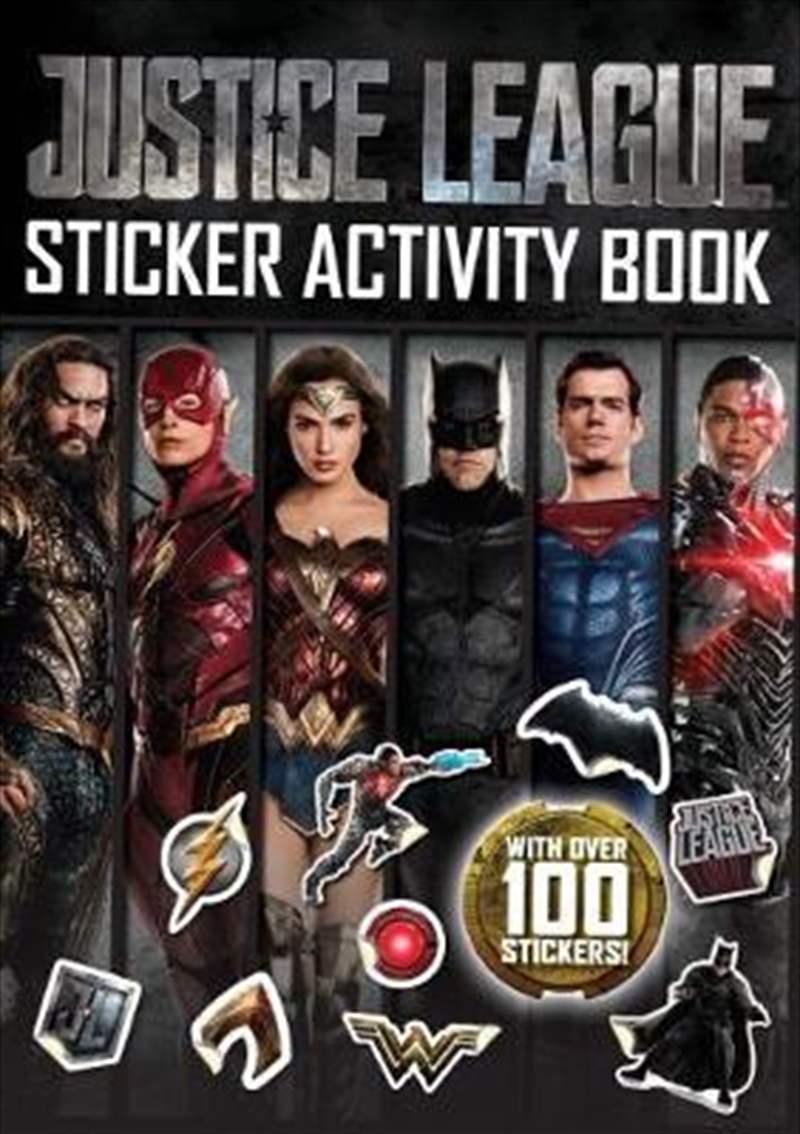 DC Comics: Justice League Sticker Activity Book | Paperback Book