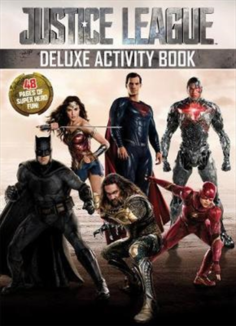 DC Comics: Justice League Deluxe Activity Book | Paperback Book