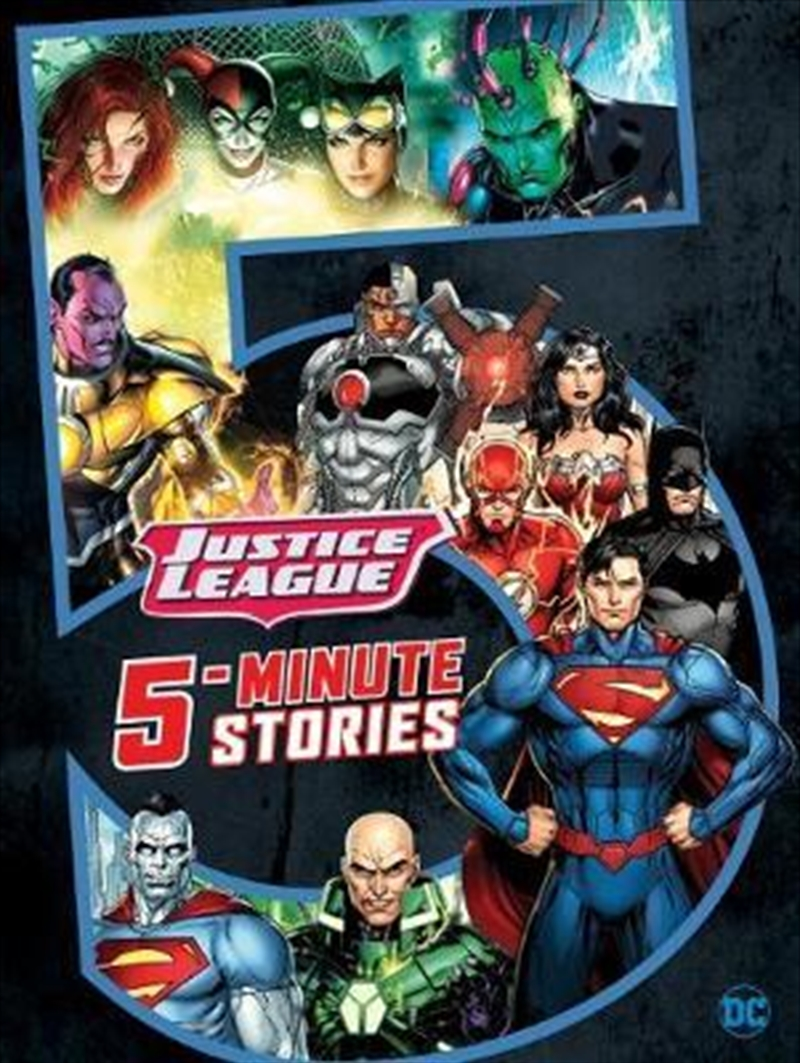 5-Minute Justice League Stories | Paperback Book