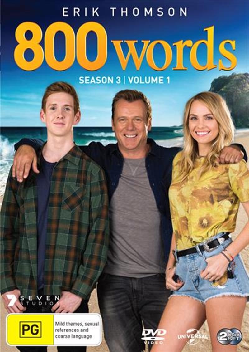 800 Words - Season 3 - Part 1 | DVD