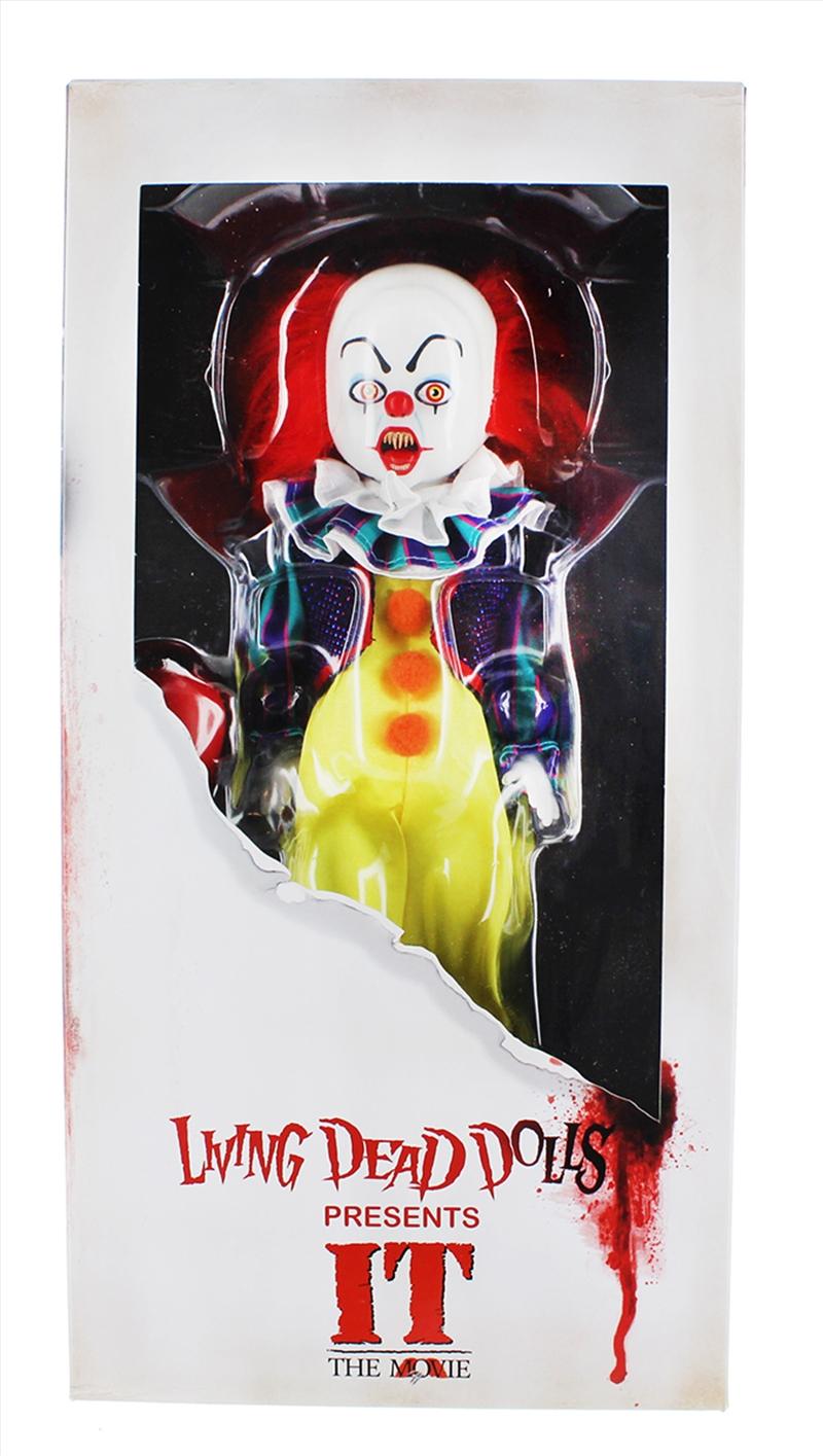 Living Dead Dolls - It (1990) Pennywise | Merchandise
