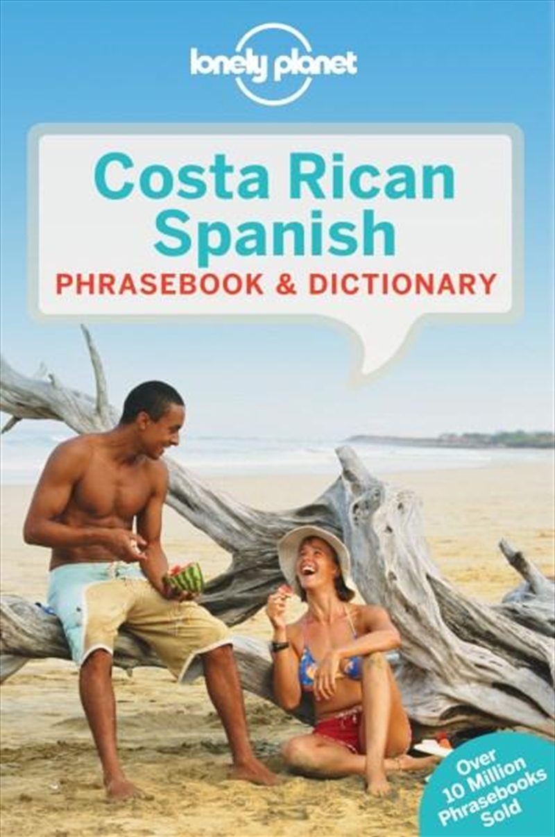 Lonely Planet Costa Rican Spanish Phrasebook & Dictionary | Paperback Book
