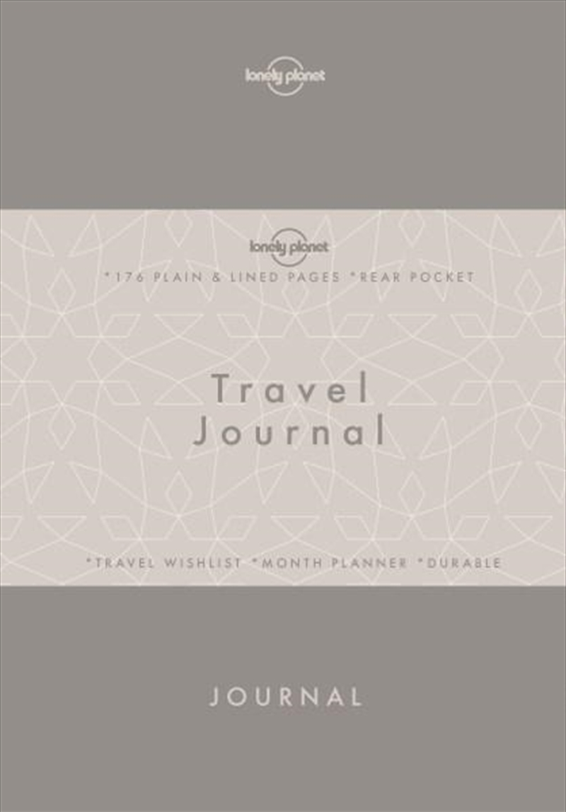 Lonely Planet Large Travel Writer's Journal | Paperback Book