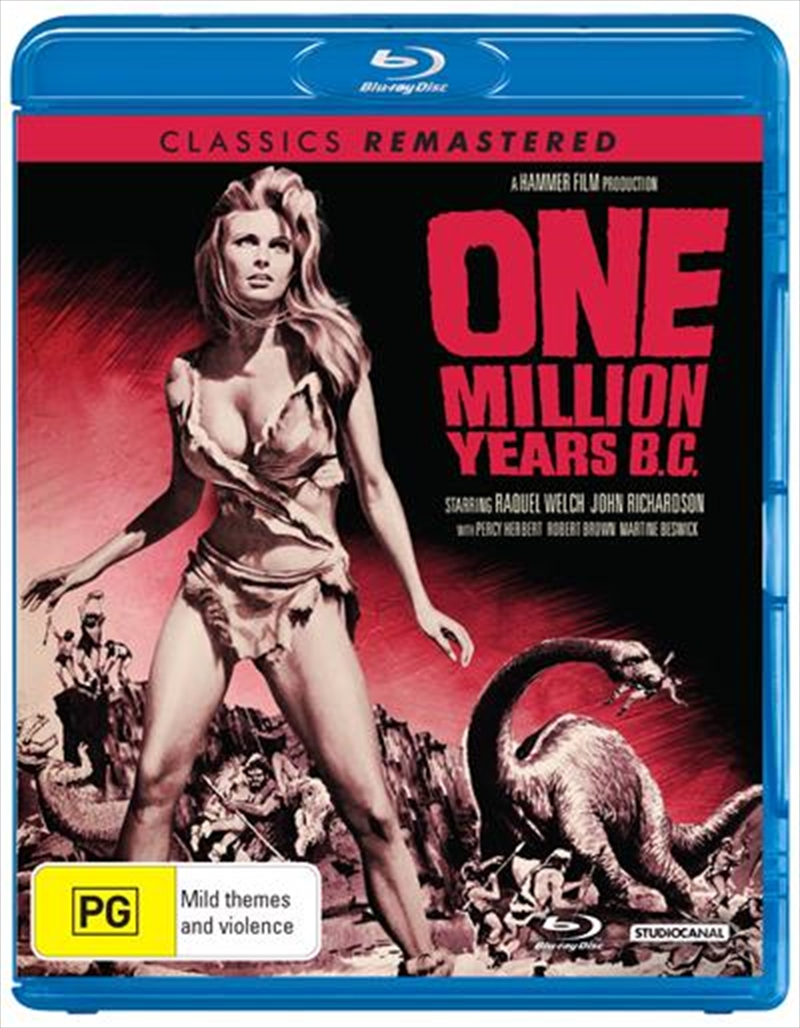 One Million Years B.C. | Blu-ray