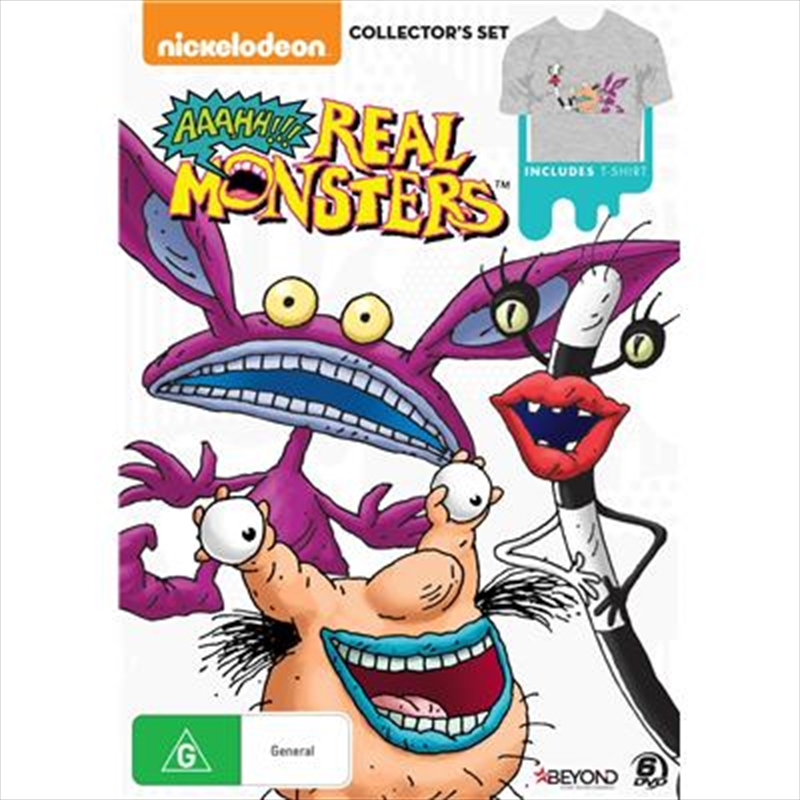 Aaahh!!! Real Monsters Collector's Set | DVD