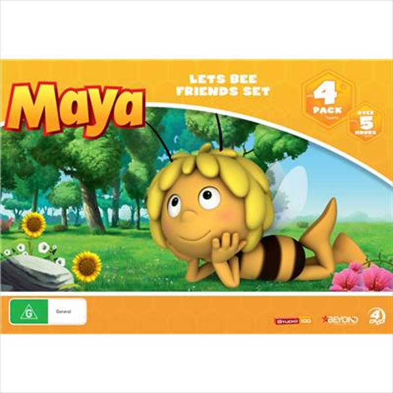 Maya The Bee - Lets Bee Friends Set | DVD