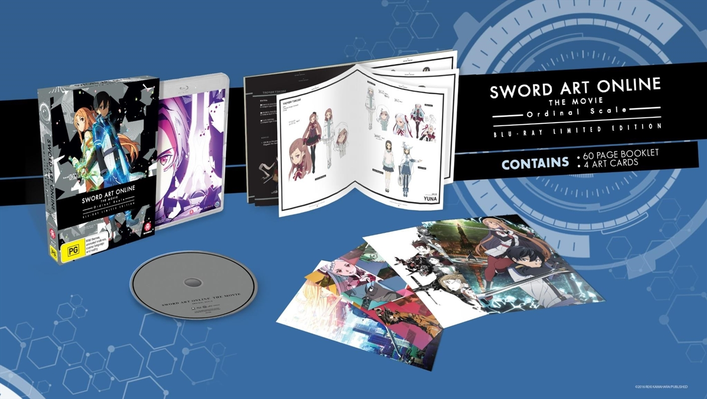 Sword Art Online - The Movie - Ordinal Scale - Limited Edition | Blu-ray
