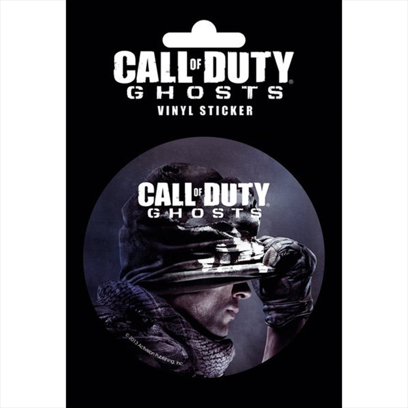 Call of Duty Ghosts Vinyl Sticker | Merchandise