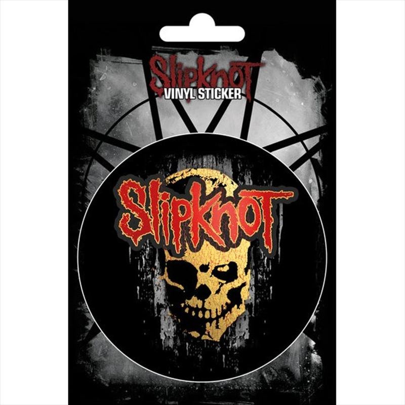 Slipknot Skull Vinyl Sticker   Merchandise