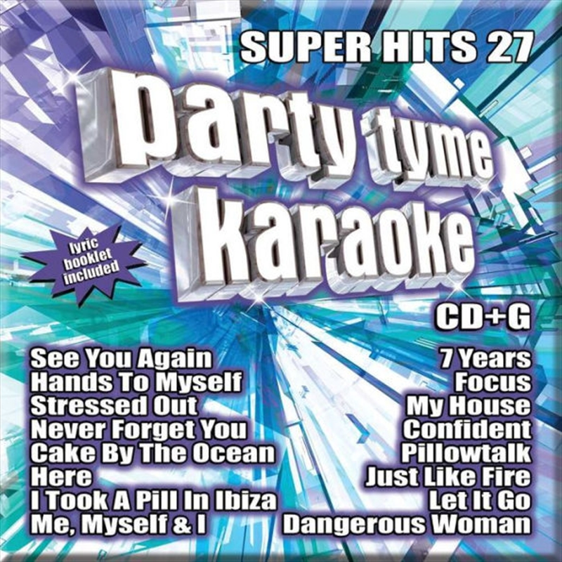 Party Tyme Karaoke - Super Hits - Vol 27 | CD