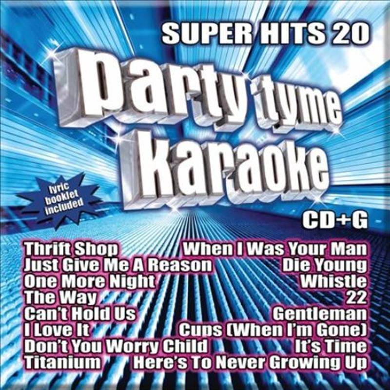 Party Tyme Karaoke - Super Hits - Vol 20 | CD