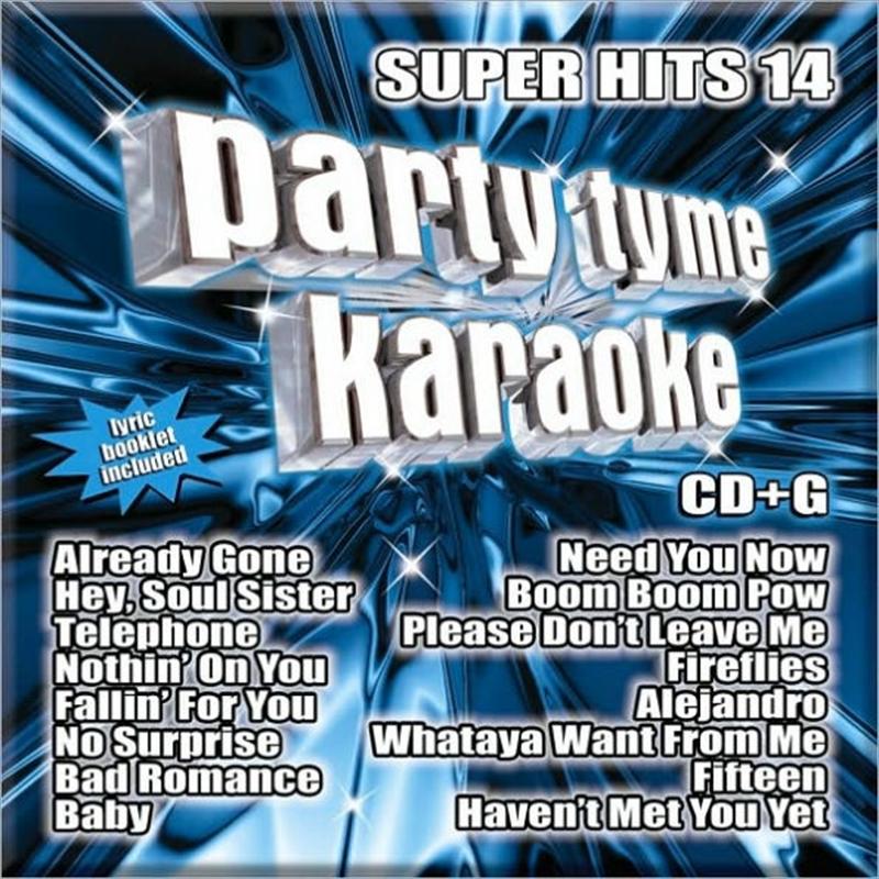 Party Tyme Karaoke - Super Hits - Vol 14 | CD