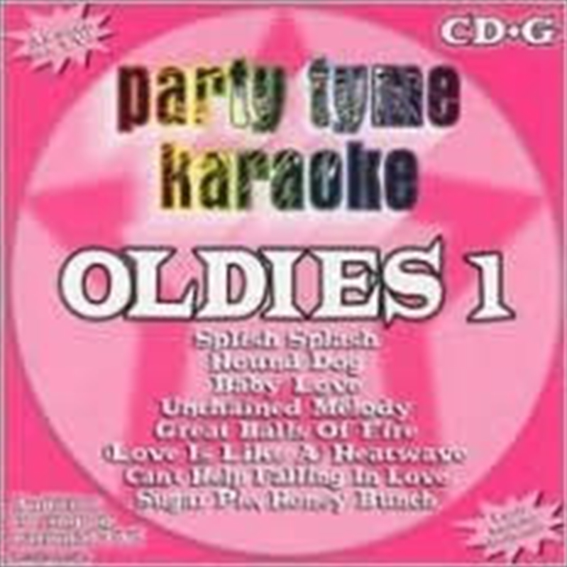 Party Tyme Karaoke - Oldies - Vol 1 | CD