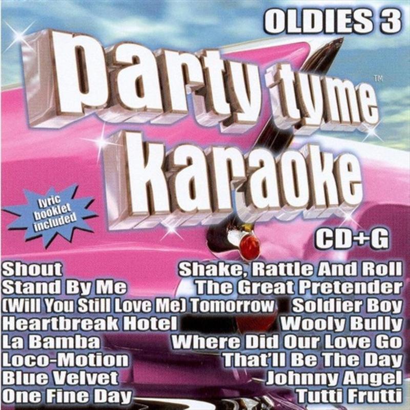 Party Tyme Karaoke - Oldies 3 | CD