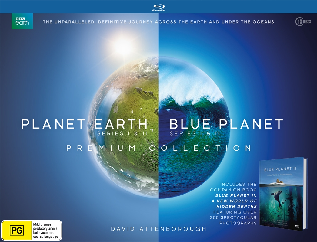Planet Earth / Blue Planet Collection | Blu-ray