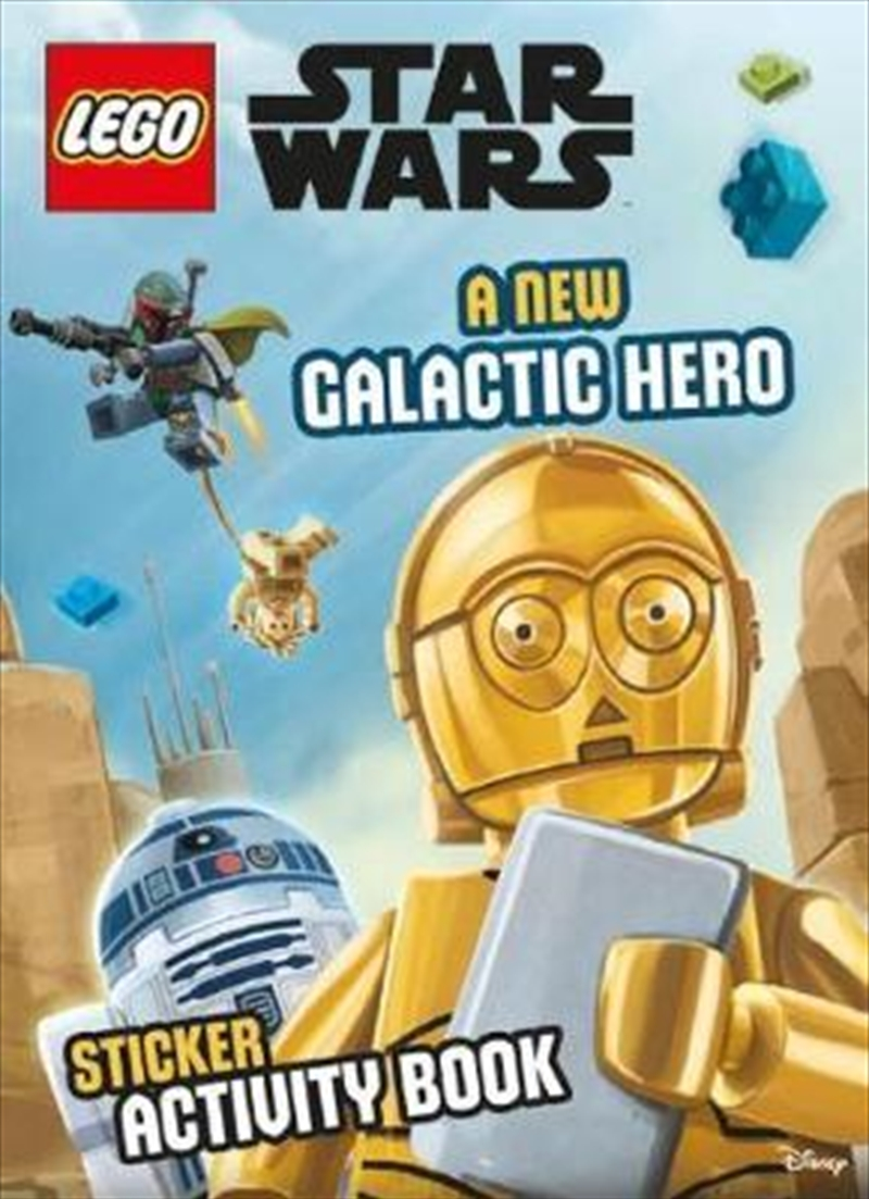 LEGO Star Wars A New Galactic Hero Sticker Activity Book | Paperback Book