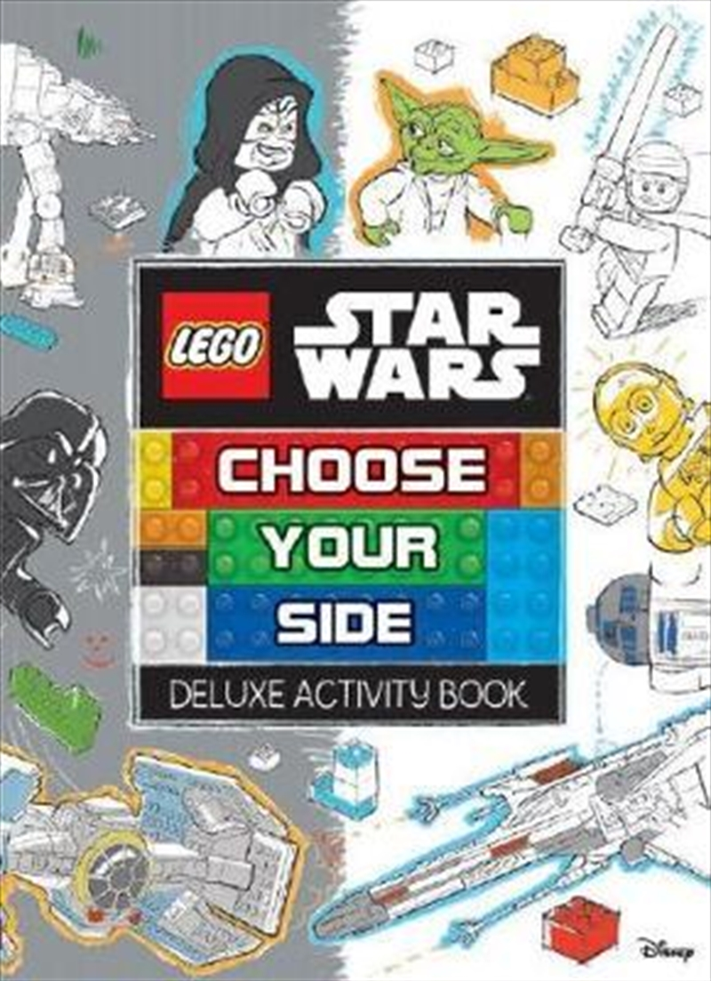 LEGO Star Wars Choose Your Side Deluxe Activity Book | Paperback Book
