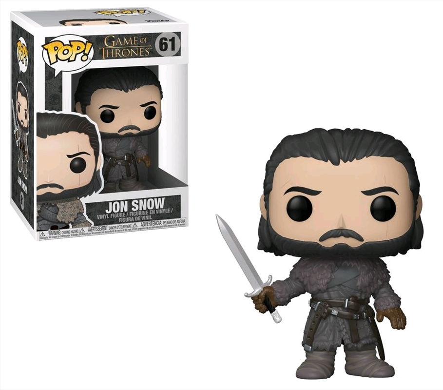 Game of Thrones - Jon Snow (Beyond the Wall) | Pop Vinyl