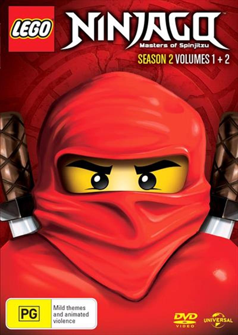 LEGO Ninjago - Masters of Spinjitzu - Season 2 - Vol 1-2 | DVD