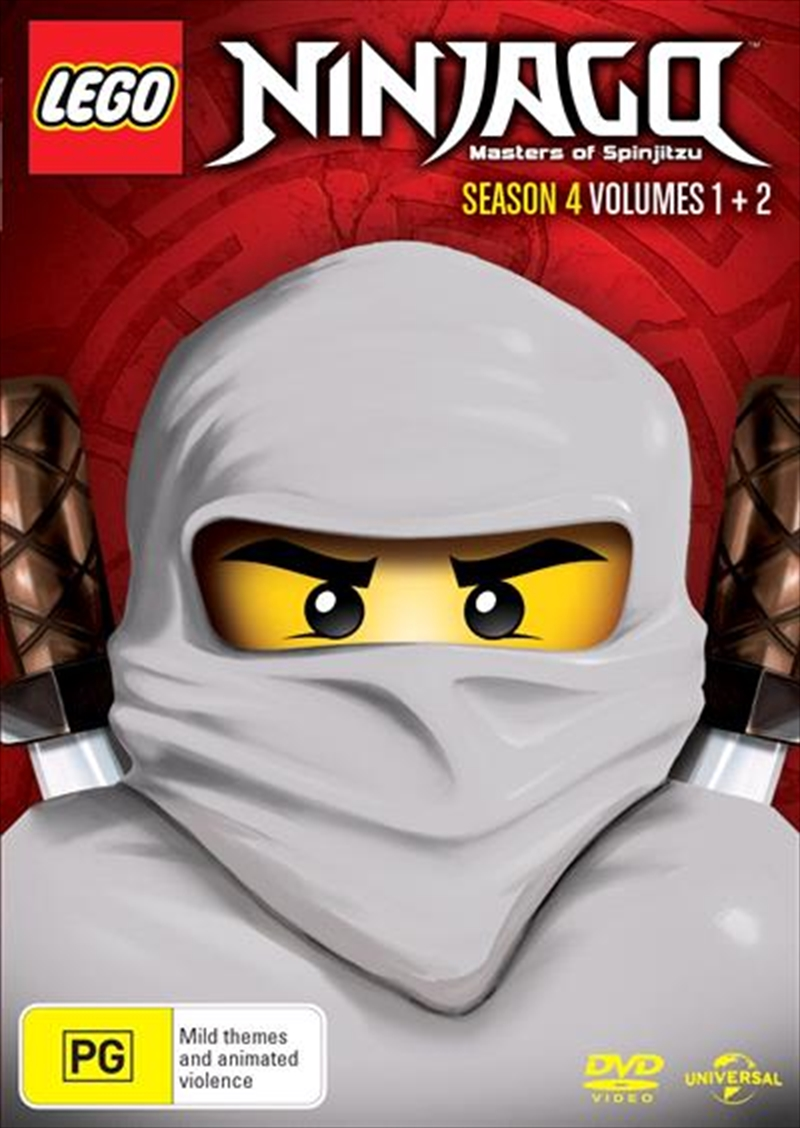 LEGO Ninjago - Masters of Spinjitzu - Season 4 - Vol 1-2 | DVD