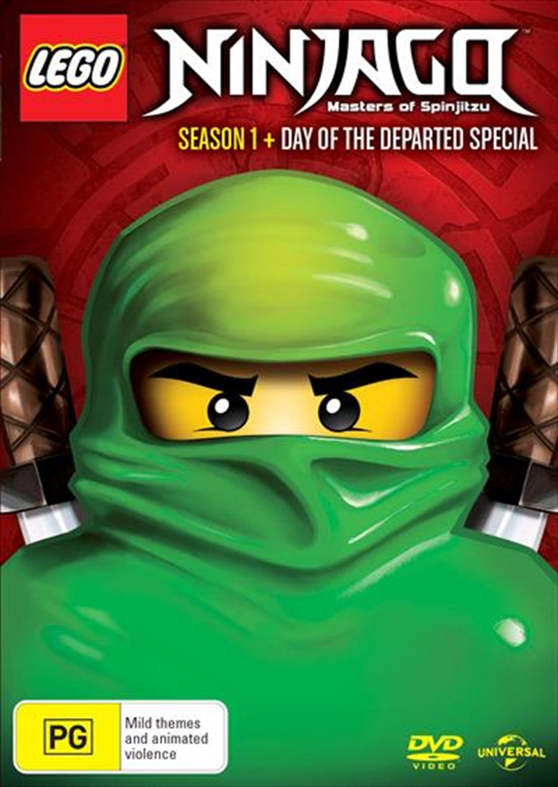 Lego Ninjago Masters Of Spinjitzu Season 1 Inc Day Of The