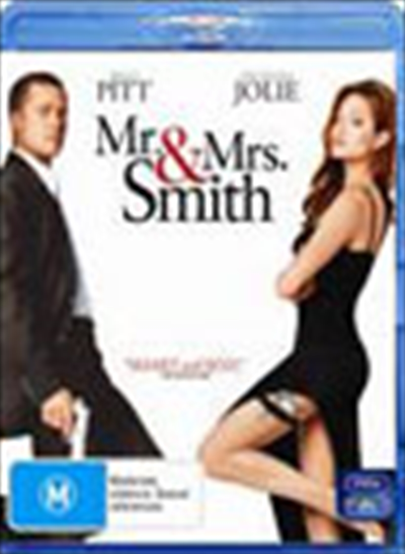 Mr And Mrs Smith | Blu-ray