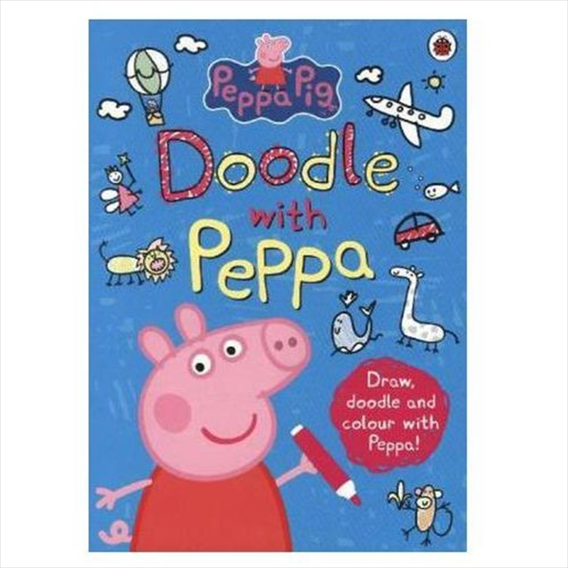 Peppa Pig: Doodle with Peppa | Paperback Book
