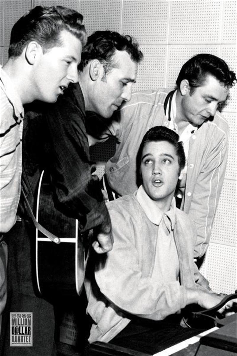 Million Dollar Quartet (Elvis Presley, Jerry Lee Lewis, Carl Perkins & Johnny Cash) | Merchandise