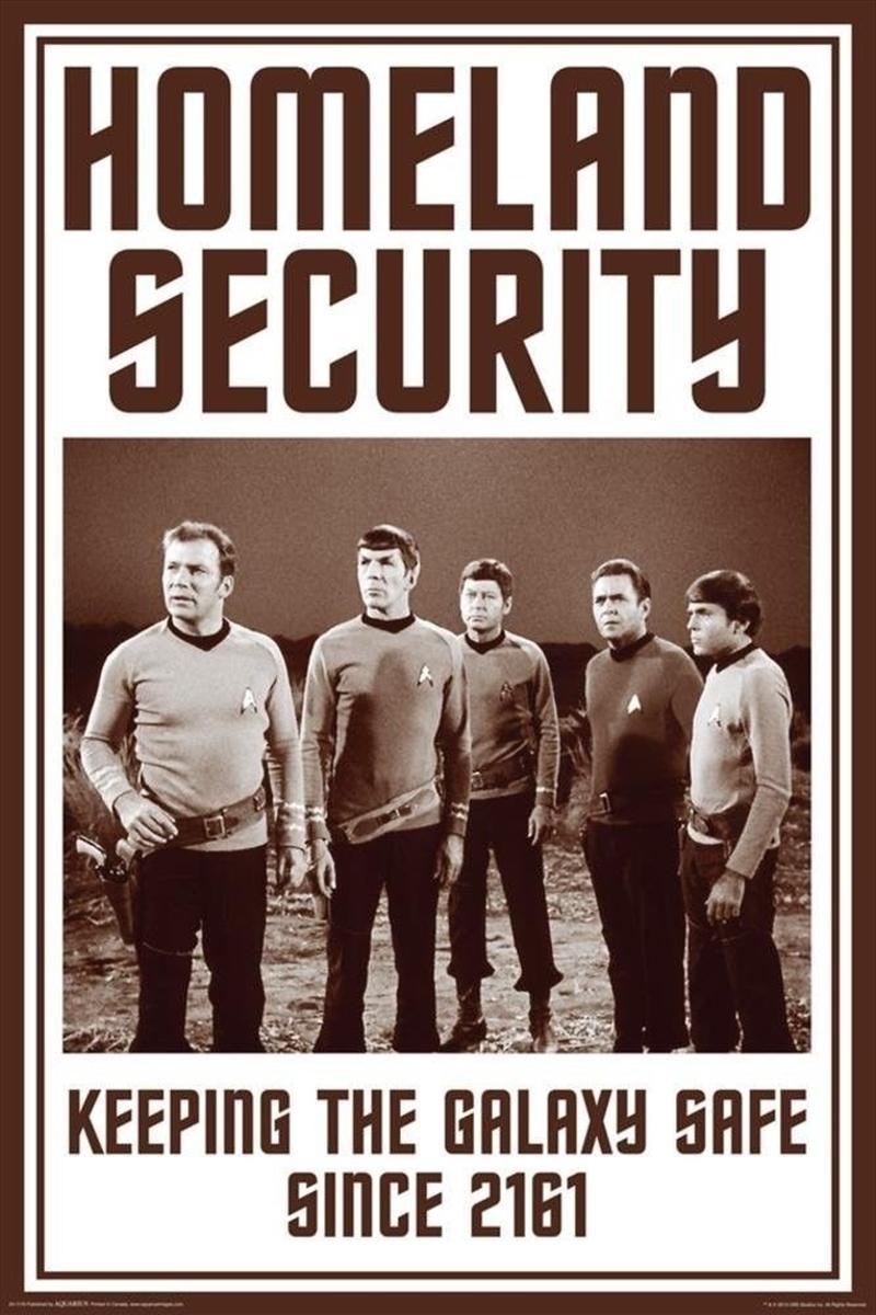 Star Trek - Homeland Security | Merchandise