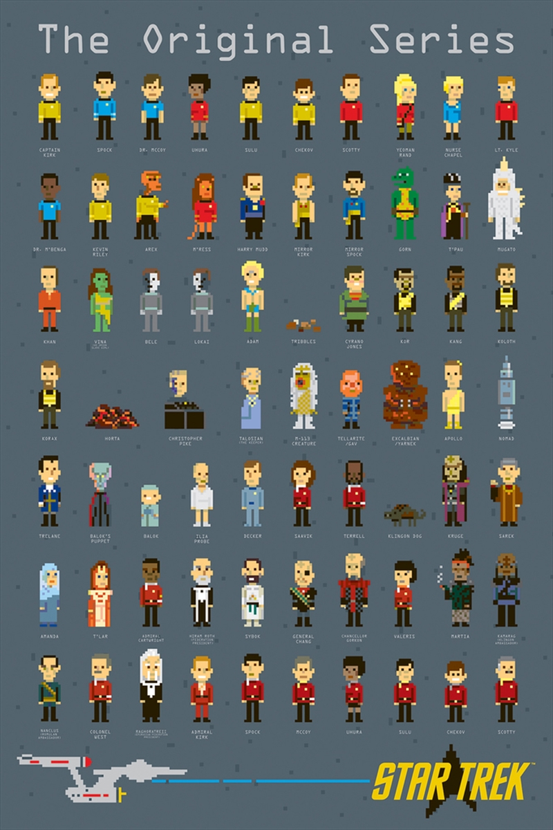 Star Trek - Pixels | Merchandise