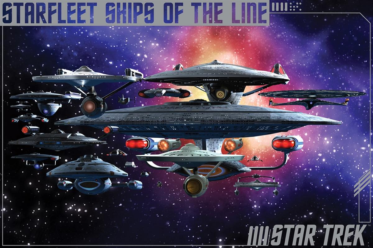 Star Trek - Ships Of The Line | Merchandise