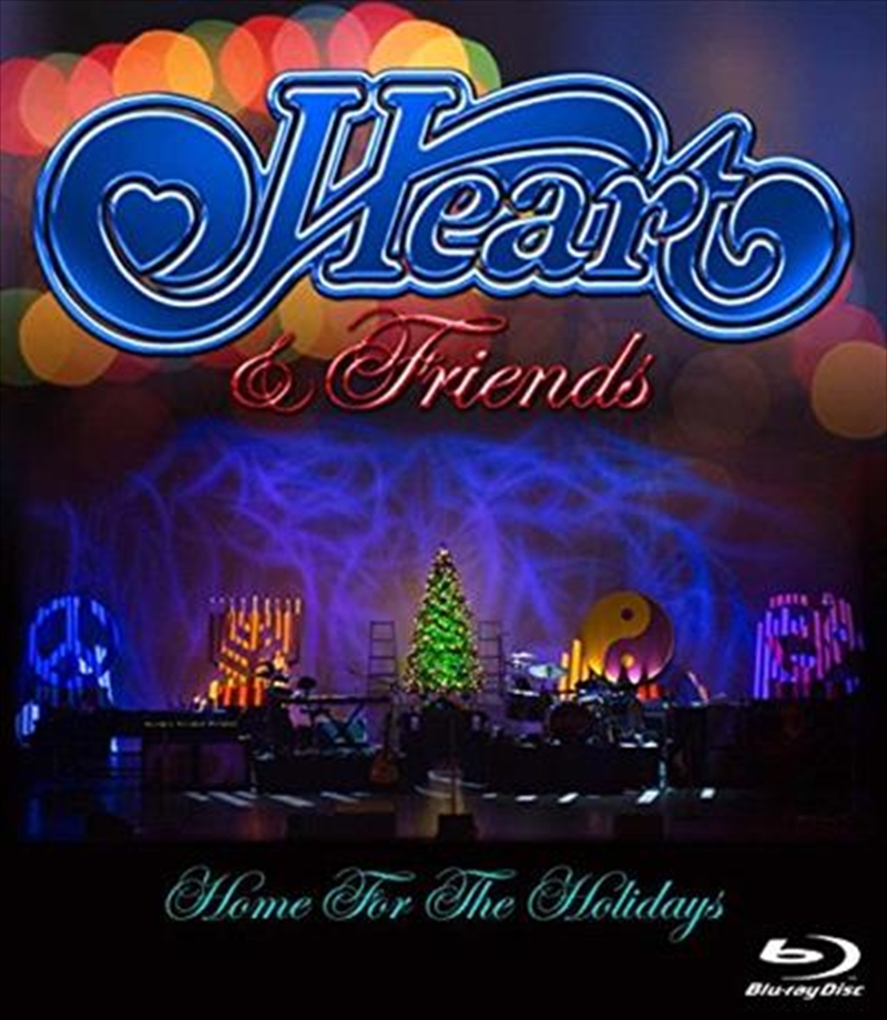 Heart & Friends - Home For The Holidays | Blu-ray