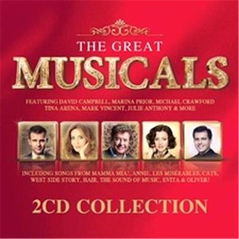The Great Musicals | CD