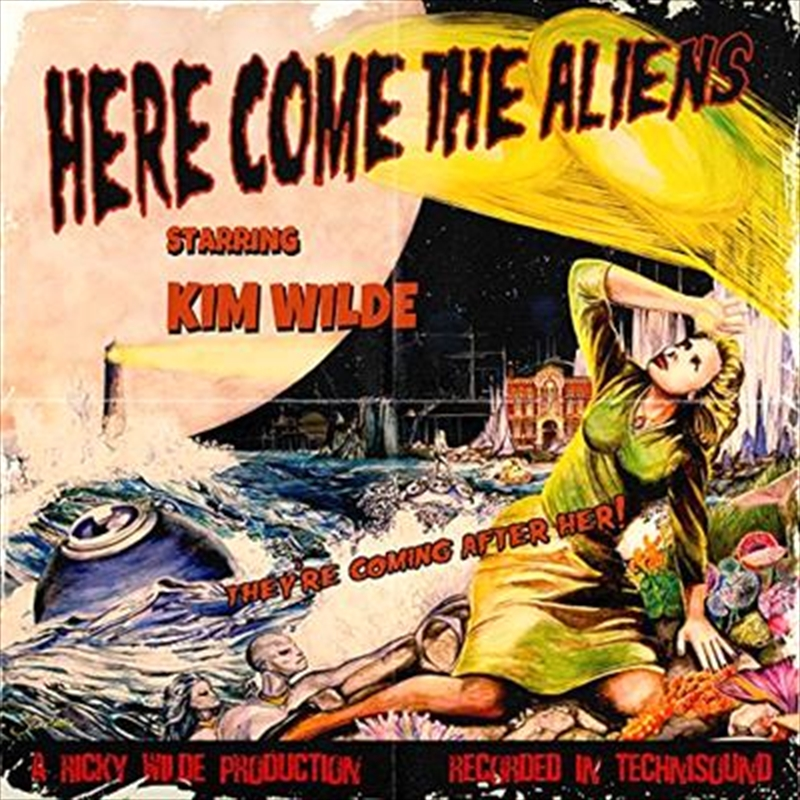 Here Come The Aliens | CD