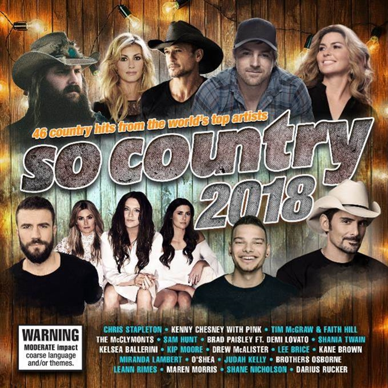 So Country 2018 | CD