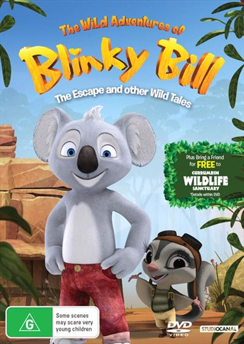 The Wild Adventures Of Blinky Bill - The Escape And Other Wild Tales | DVD