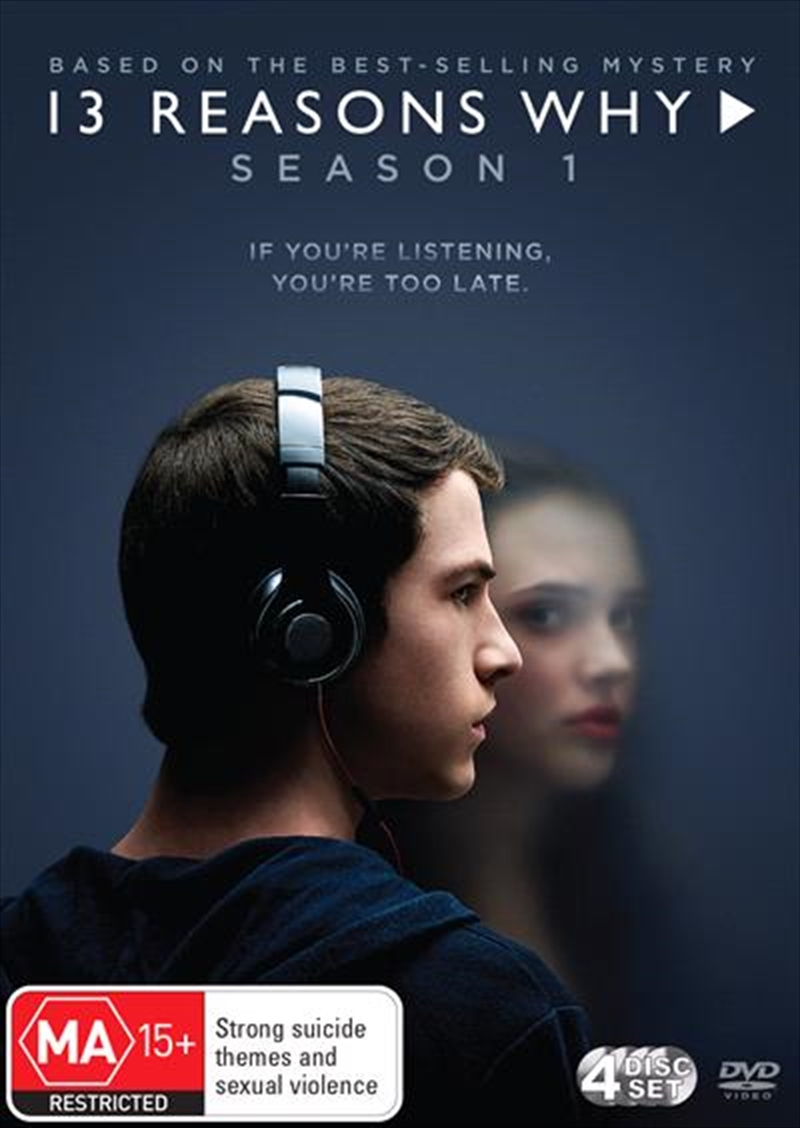13 Reasons Why - Season 1 | DVD