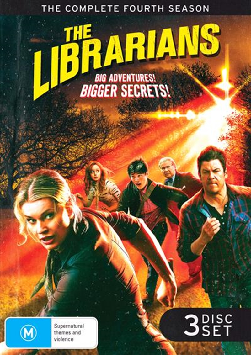 Librarians - Season 4, The | DVD