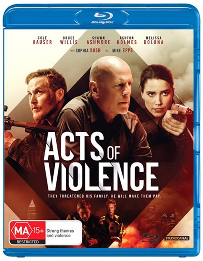 Acts Of Violence | Blu-ray