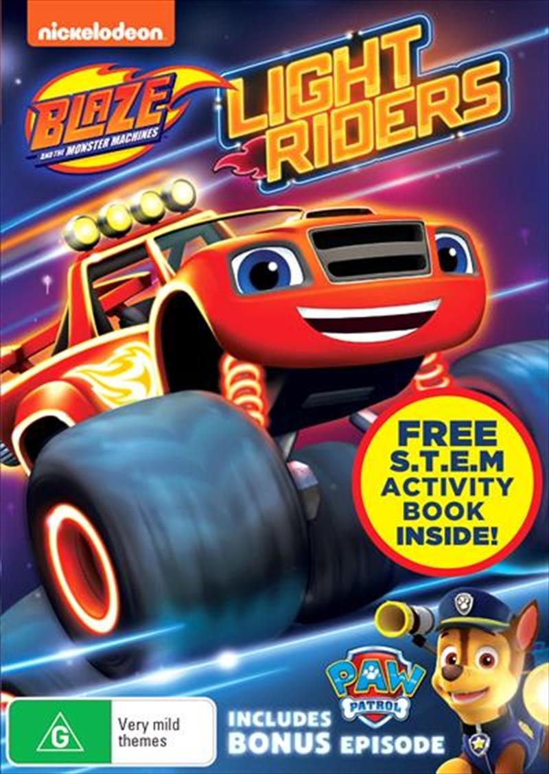 Blaze & The Monster Machines: Light Riders | DVD